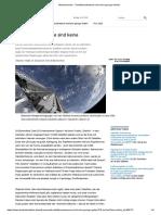 Weltraumrecht - _Satellitenschwärme sind keine geringe Gefahr_