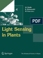 M. Wada (Editor), K. Shimazaki (Editor), M. Iino (Editor) - Light Sensing in Plants (2005)