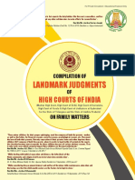 High Court Judgments Book in 4th Regional Conference