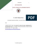 Dr. Adolfo Vásquez Rocca _ ANTI-PSIQUIATRÍA; DECONSTRUCCIÓN DEL CONCEPTO DE ENFERMEDAD MENTAL