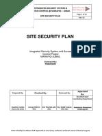 Site Security Plan