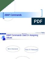 ABAP Commands