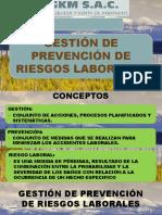 GESTIÓN DE PREVENCIÓN DE RIESGOS LABORALES