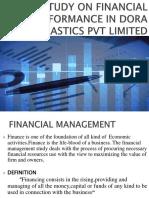 A STUDY ON FINANCIAL PERFORMANCE IN DORA PLASTICS new.pptx