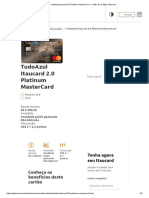 TudoAzul Itaucard 2.0 Platinum MasterCard - Cartão de Crédito _ Itaucard