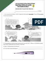 Atividades de ciências 24-06-2014