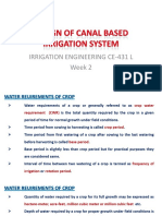 canal system design 1
