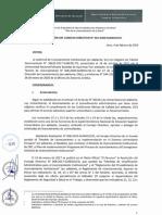 Res 021 2020 Sunedu CD Resuelve Otorgar La Licencia Institucional a Unamba