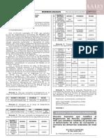 Decreto Supremo N° 002-2020-JUS
