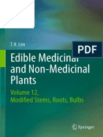T. K. Lim (auth.) - Edible Medicinal and Non-Medicinal Plants_ Volume 12 Modified Stems, Roots, Bulbs-Springer International Publishing (2016)