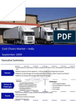 Cold Chains Market India Sample