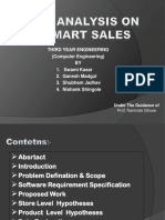 Data Analysis on    BigMart Sales.pptx