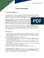 HEC EMBA - Capstone project