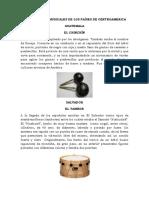INSTRUMENTOS MUSICALES DE LOS PAÍSES DE CENTROAMERICA