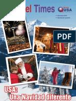 Revista Travel Times Visit USA fin de año 2010