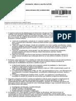 +Alfabetização e Letramento - Letramento_ leitura e escrita na EJA - 1a. chamada - São Francisco do Sul_SC (Escola ESTADUAL  Prof. Claurinice Vieira Caldeira)