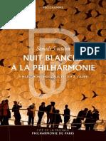 Nuit Blanche à la Philharmonie