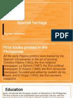 Spaniard heritage