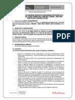 12.SERVICIO DE ASISTENTE DE TRAMO SONDOR - ABRA CRUZ CHIQUITA