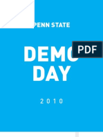 Demo Day Program