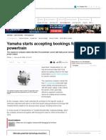 Yamaha Powetrain