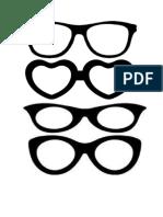 gafas, mostachos y emogis para GP