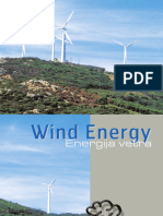 Wind Energy. Energija vetra