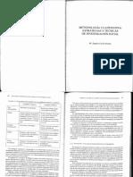 CEA DANCONA - Metodología cuantitativa