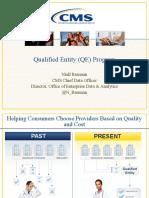 CMS Qualified Entity Program