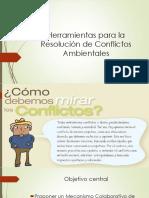 Herramientas Para La Resolución de Conflictos Ambientales