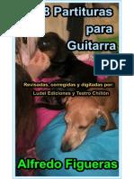 48 Partituras para Guitarra Alfredo Figueras