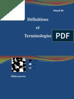 Lec 2-Quelques Définitions Et Terminologies en Mécanique d