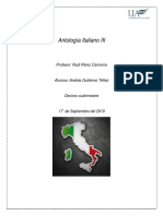 Antologia italiano