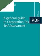 Corporate Tax Self Assessment Guide