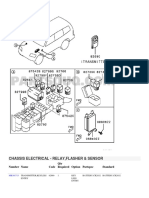 CHASSIS ELECTRICAL - RELAY,FLASHER & SENSOR Montero V-76W