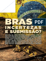 Brasil incertezas e submissão?