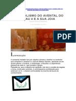 O Simbolismo do Avental do Grau 4 e a sua Joia - Revista Universo Maçonico