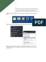 Procedimiento de configuración de correo en celular android