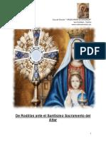 De Rodillas ante el SANTISIMO SACRAMENTO (Casa de Oracioìn ?VIRGEN DE JERUSALEM?)