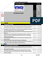 Amway_sQAC_General_Quality_System_Audit_Checklist