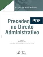 Precedentes no Direito Administrativo - Rafael Carvalho Rezende Oliveira - 2018.pdf