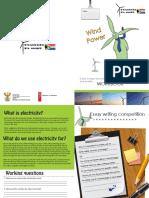 Wind Power Kids Workbook