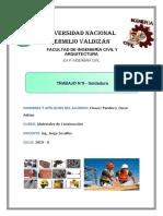MATERIALES DE CONSTRUCCION - SOLDADURA - TRABAJO N09.docx