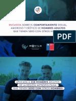 Los datos de la primera encuesta a hombres gay en Santiago