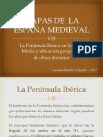 MAPAS DE LA ESPAÑA MEDIEVAL