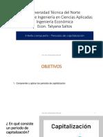 PERIODOS DE CAPITALIZACIÓN