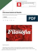 Uma breve história da filosofia _ Superinteressante.pdf