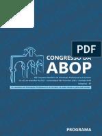 XIII Congresso Brasileiro de Orientação Profissional e de Carreira