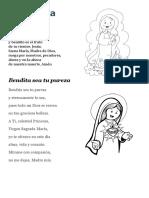 Oraciones dedicadas a la Virgen María