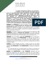 MINUTA COMPRA VENTA DE ACCIONES Y DERECHOS MARIBEL PELAES